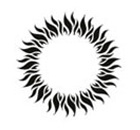 Temporary Tattoo Glow In The Dark Tribal Sun Ring