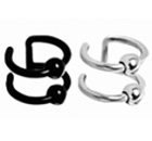 Lips Nose Ear Cuffs