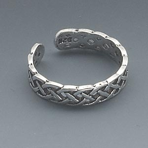 Sterling Silver Toe Celtic Knot Design