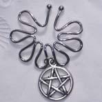 Pentagram Nipple Ring